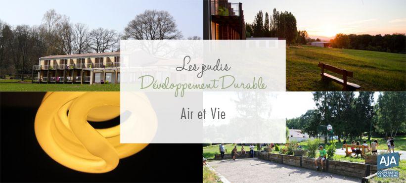 Développement durable AJA : Air et Vie