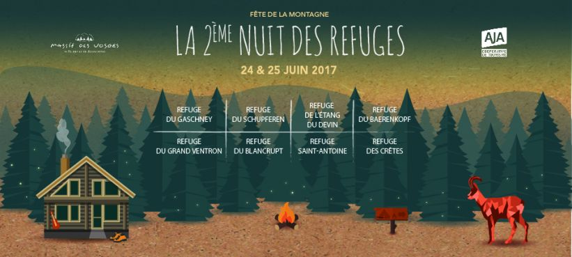 La Nuit des Refuges - Massif des Vosges - AJA